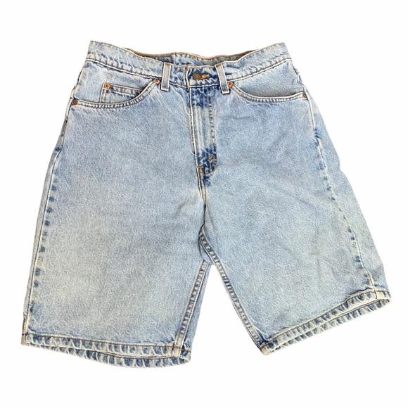 LEVI'S 550 Vintage LightWash MOM Shorts DIY Cutoff